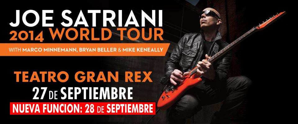 Joe Satriani en el Gran Rex!